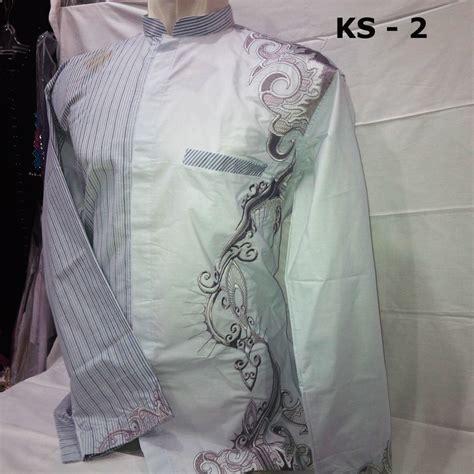 Koko Batik Panjang 07 jual baju koko ayah anak seo rajawali