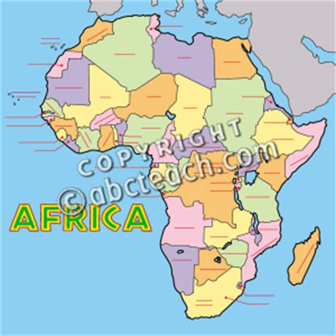 africa map unlabeled clip africa map color unlabeled abcteach