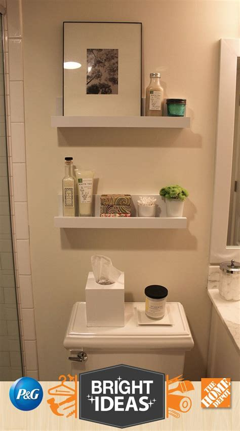Bathroom Wall Shelves Ideas 17 Best Ideas About Bathroom Shelves On Pinterest Diy Bathroom Decor Half Bathroom Decor And