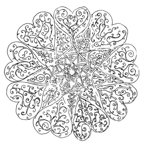 tree mandala coloring pages tree of life adult coloring coloring pages
