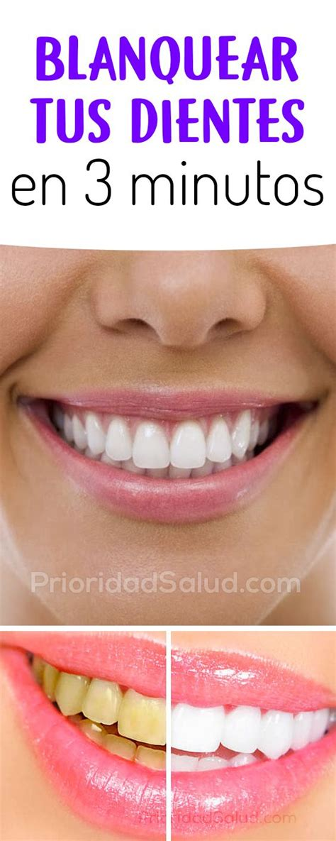 como blanquear dientes en casa blanquea tus dientes en solo 3 minutos tips blanquear