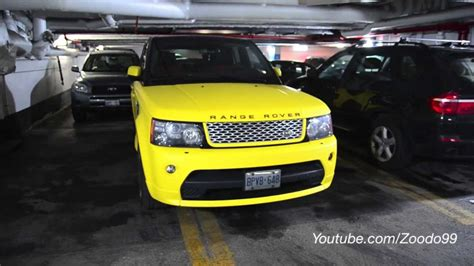yellow land rover matte yellow range rover autobiography edition restyleit