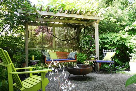 Arbor Backyard by Grape Arbor Backyard Ideas