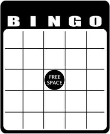 free bingo card templates 7 best couples images on bingo 1st