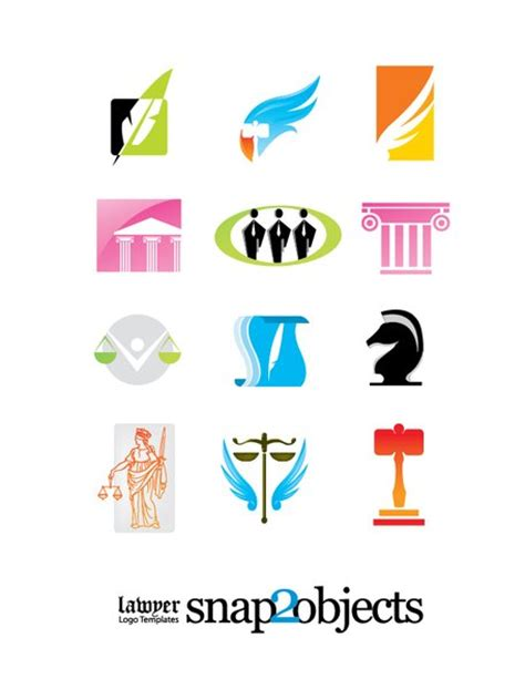 lawyer logo vector free firm logo templates free vectors clipart me