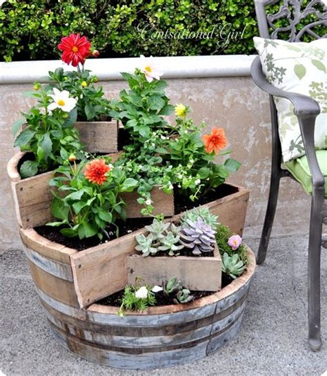 homemade planters 40 creative diy garden containers and planters from