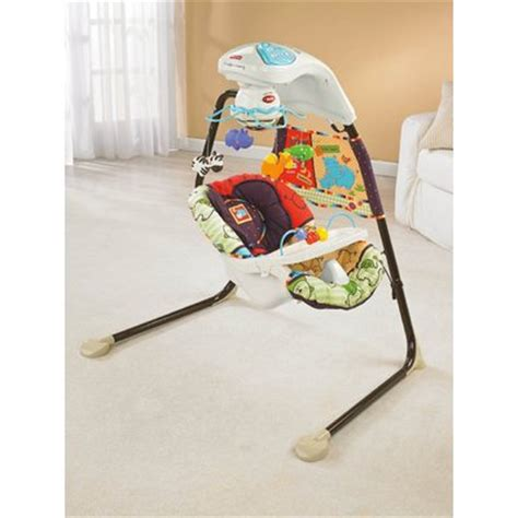 fisher price luv you zoo swing fisher price wayfair