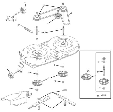 murray lawn mower deck parts diagram murray lawn mower parts diagram drive belt efcaviation