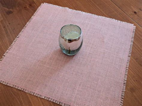 blush pink burlap table overlay light pink table centerpiece