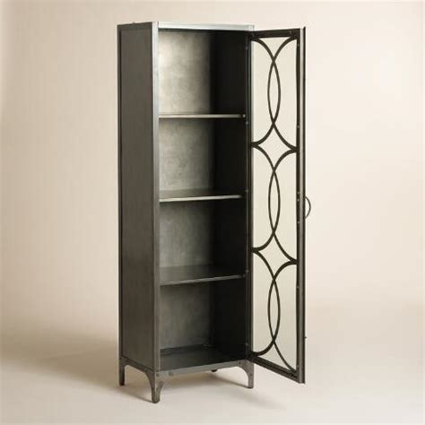 Semi Circle Cabinet by Metal And Glass Half Circle Eriksen Curio Cabinet World