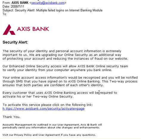 Complaint Letter To Axis Bank 21 Security Tips For Your Banking And Debit Credit Cards