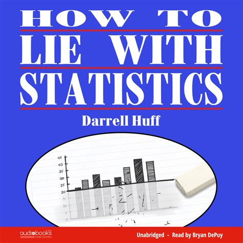 how to your to lie how to lie with statistics novel audio
