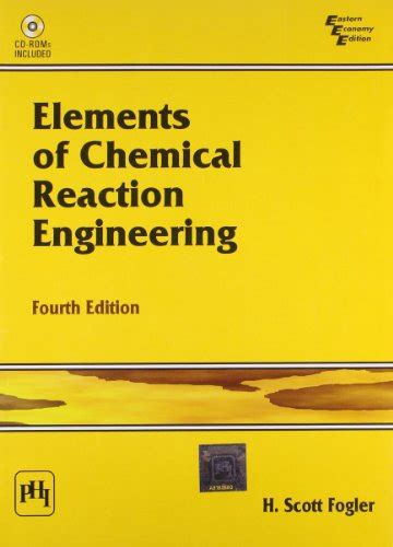 Chemical Reaction Engineering h fogler author profile news books and speaking