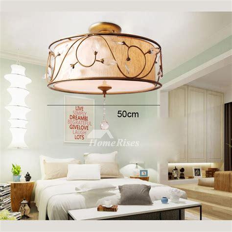 rustic ceiling light fixtures semi flush drum bedroom