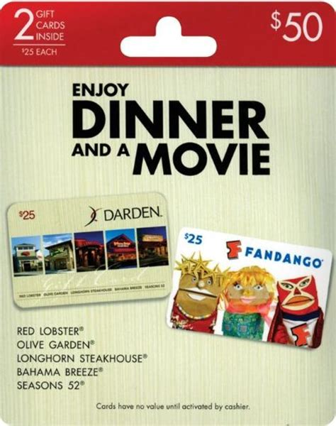 Dinner Movie Gift Cards - pinterest the world s catalog of ideas