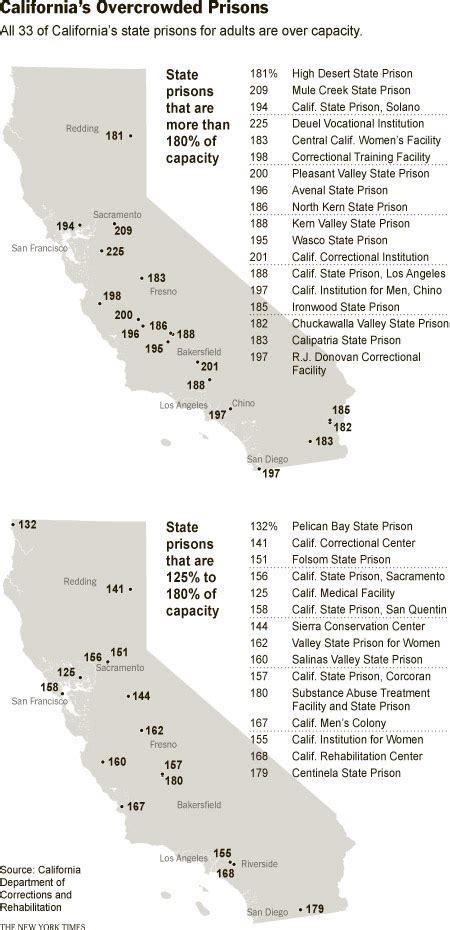 california jails map prison culture 187 stop new prisons california has always