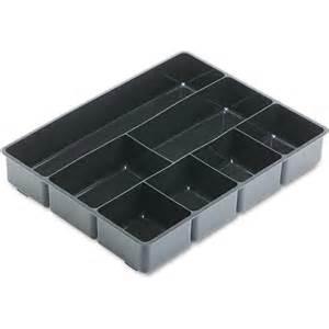 rubbermaid desk drawer director tray plastic