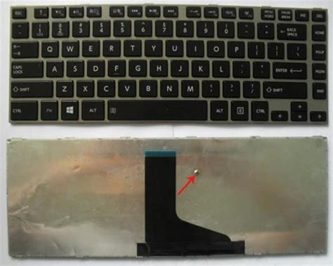 Keyboard Laptop C600 L645 L745 keyboard laptop toshiba satellite l600 l630 l640 l640d