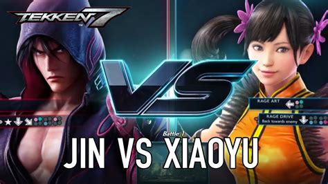 Kaset Ps4second Tekken 7 tekken 7 ps4 xb1 pc jin vs xiaoyu character gameplay