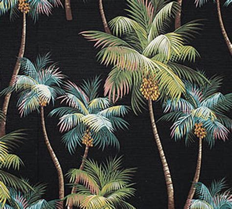 tropical upholstery palm tree upholstery fabric black tropical by