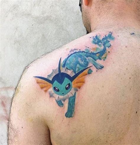vaporeon tattoo the 25 best ideas on nintendo