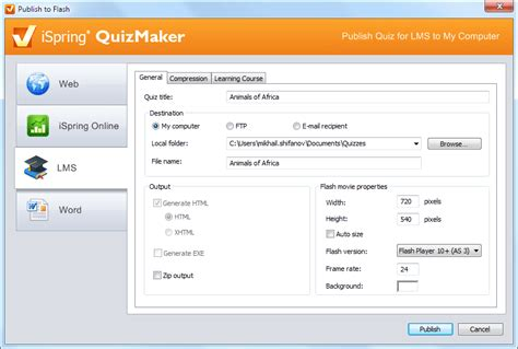 Free Survey Maker - free quiz maker ispring free quiz maker