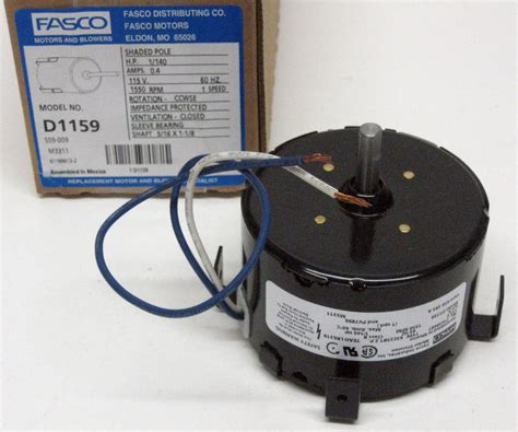 fasco bath fan motor replacement d1159 fasco bathroom fan vent motor for 7163 1845 656 293a