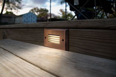 Patio Step Lights Patio Step Lights Bulbrite Introduces Color Changing Led Step Lights Solar Step Lighting