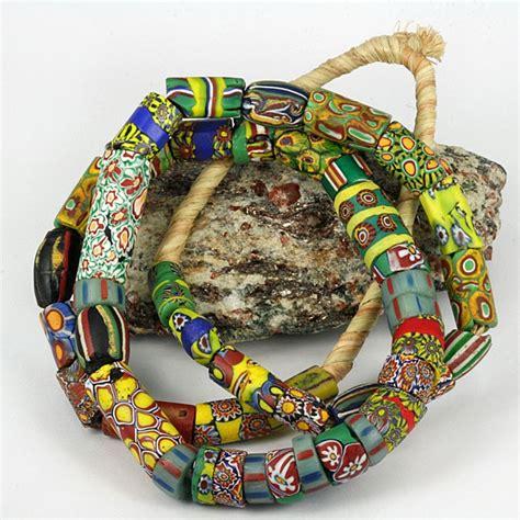 bead trade shows antique venetian fancy glass trade bead strand