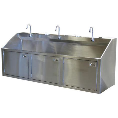 3 bay stainless steel sink stainless steel scrub sink