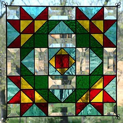 quilt pattern stained glass stained glass quilt pattern suncatcher glass pinterest