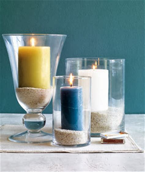 real simple ideas for simple glass vases by kimberly reuther designspeak top 13 diy coastal beach candles candle holder ideas
