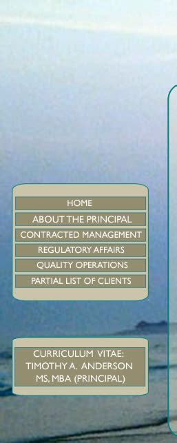 Mba In Pharmaceutical Regulatory Affairs by Aqua Marine About The Principal