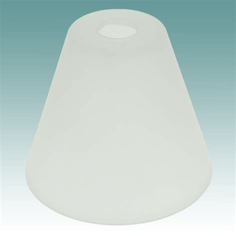 Glass L Shades by 7803 Frosted Neckless Shade Glass Lshades