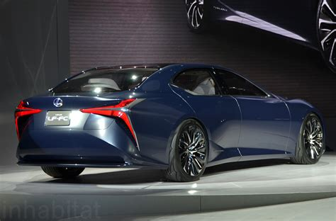 lexus lf fc the lexus lf fc is a hydrogen powered future machine lexus