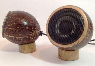 cara membuat jam dinding dari batok kelapa membuat speaker unik dari batok kelapa bambu radium