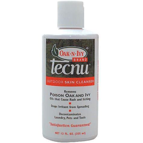 Detox Cleanse Skin Rash by Tecnu Poison Prevention Cleansing Treatment 12oz