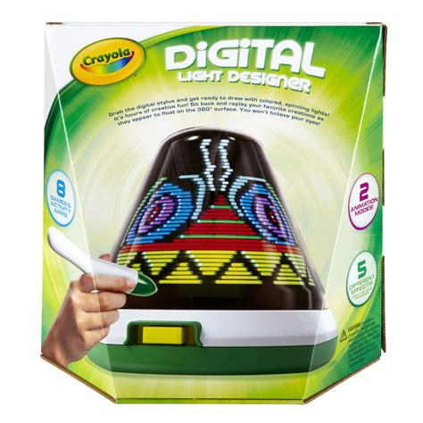 childrens crayola digital light designer creative light up