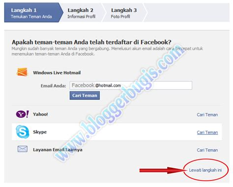 bagaimana cara membuat akun facebook di komputer optimasi blog 3 panduan lengkap cara membuat facebook