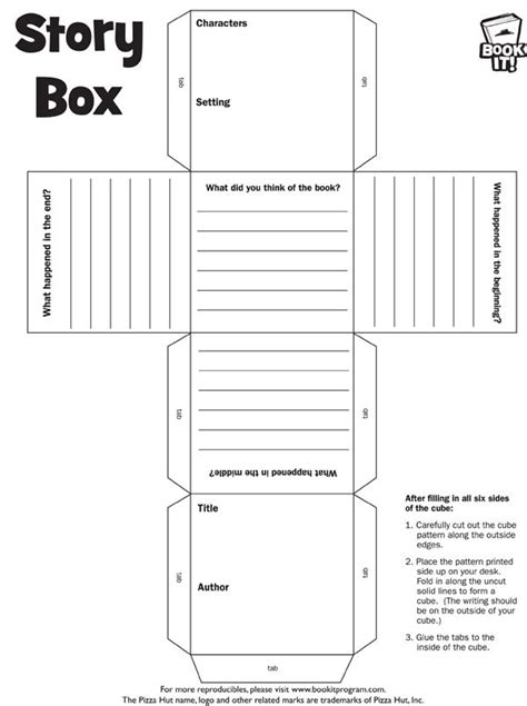 story report template story elements cube template pictures to pin on