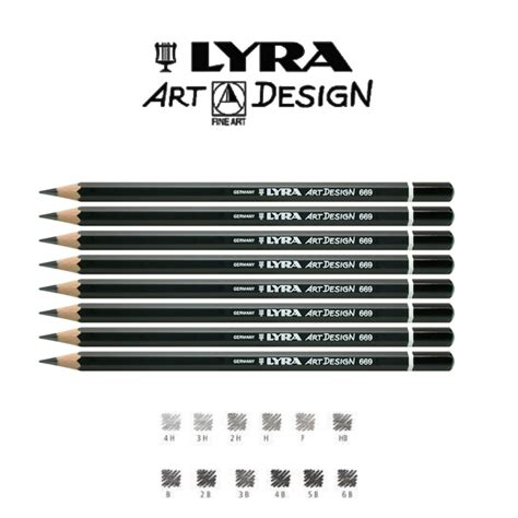 jual lyra rembrandt design 669 graphite pencils lix