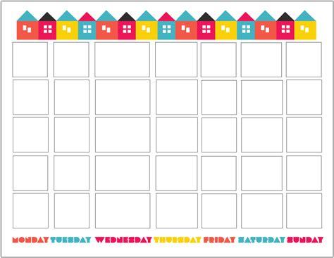 printable weekly calendar cute cute printable blank calendar
