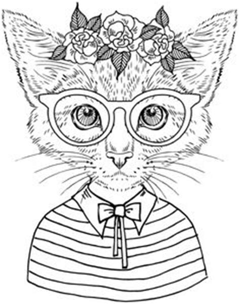 hipster ideas coloring pages