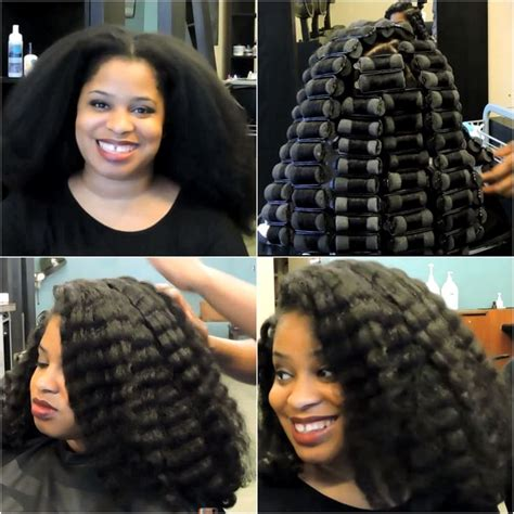 Roller Set Hairstyles For Black Hair by 1000 Images About Hair Tutorials And Hair