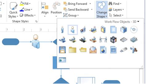 change shape in visio create professional diagrams quickly with the new visio