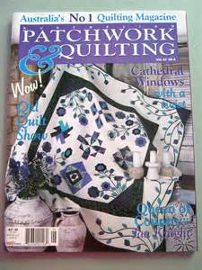 2 issues of australian patchwork quilting by dakotajoyce