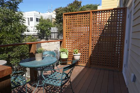 apartment patio screens apartment patio privacy screen ideas icamblog