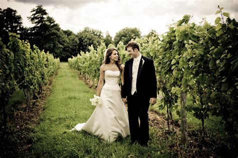 wedding in a vineyard weddings events mackinaw trail winery