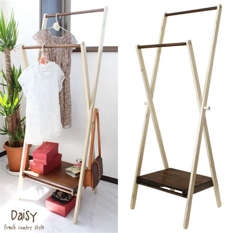 foldable clothes rack folding hanger rack antique painted