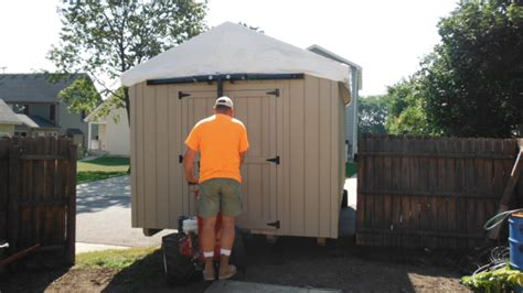 Shed Hauling by Shed Moving Services In Wisconsin Shed Hauling With